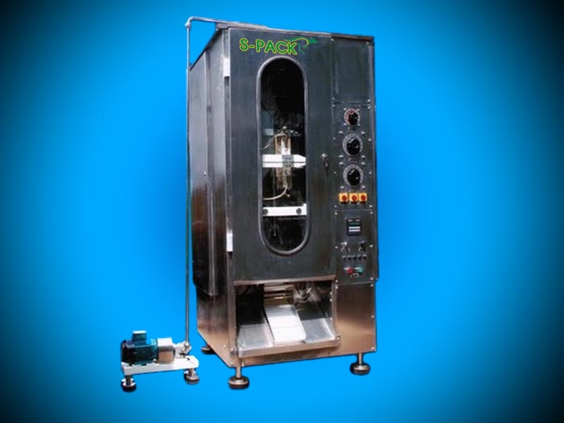 Edible Oil Pouch Packing Machine Model S-M   S-PACK